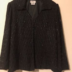 Black Beaded Jacket